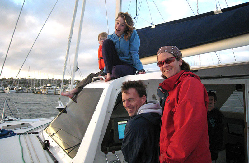 San Diego Catamaran Charters Amp Lessons West Coast Multihulls