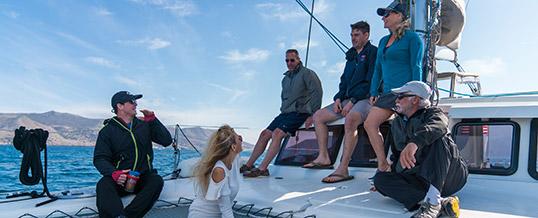 Cruising Catamaran (ASA 114) – San Diego