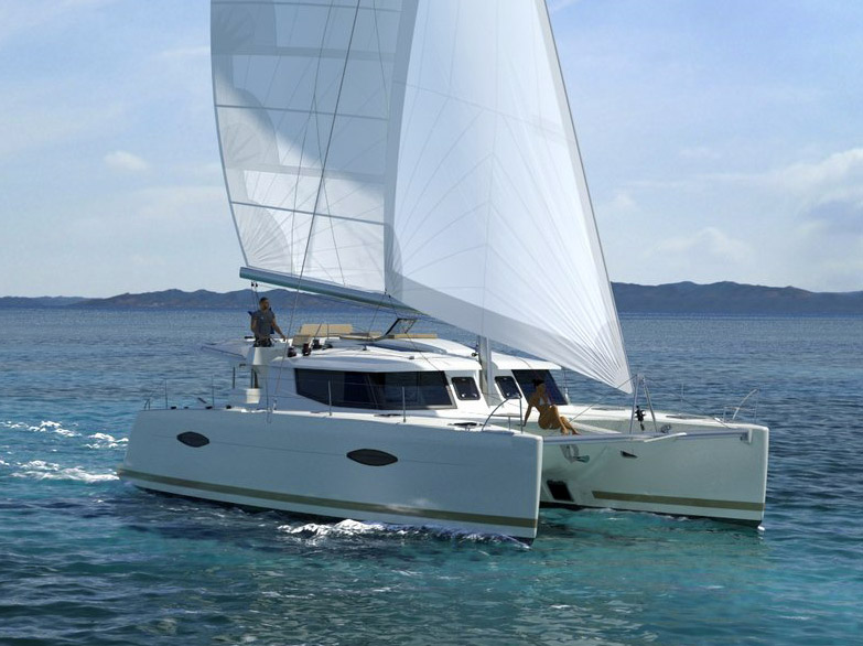 FP Helia 44 Charter Catamaran in Sea of Cortez – San Diego