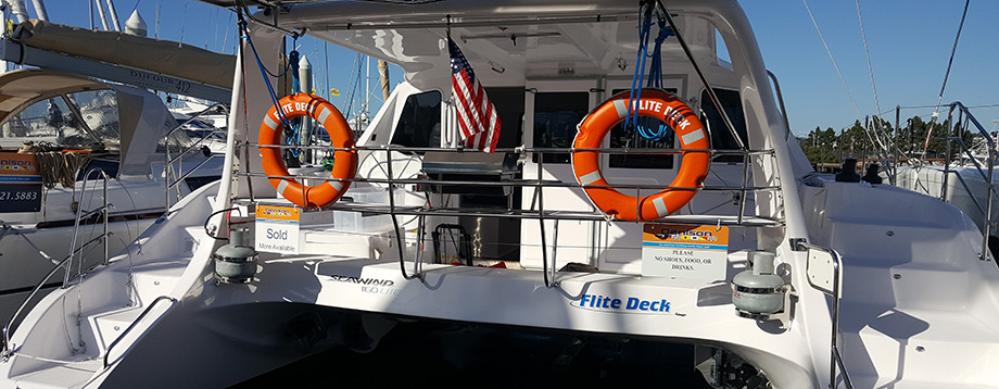 Seawind 1160 Lite – San Diego Catamaran Charters & Lessons