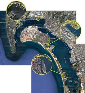san diego sailing charter itineraries